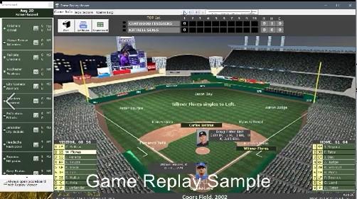 Nostalgia Simulation Baseball - Home